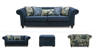 Anika Clearance 4 & 2 Seater Sofa, Cuddler & Stool