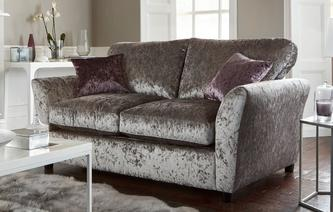 Annalise Formal Back 2 Seater Deluxe Sofa Bed Krystal