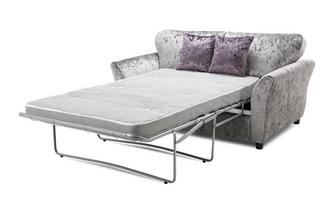 Annalise Sofabed Clearance Formal Back 2 Seater Deluxe Sofa Bed Krystal