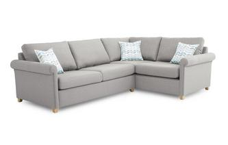Anya Left Arm Facing Corner Deluxe Sofa Bed Anya