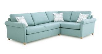 Anya Left Arm Facing Corner Deluxe Sofa Bed