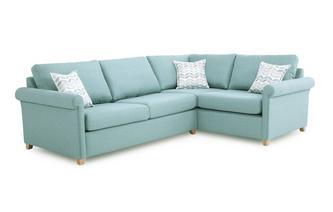 Left Arm Facing Corner Deluxe Sofa Bed Anya