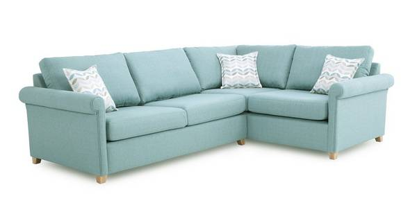 Anya Left Arm Facing Corner Deluxe Sofa Bed