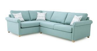 Anya Right Arm Facing Corner Deluxe Sofa Bed