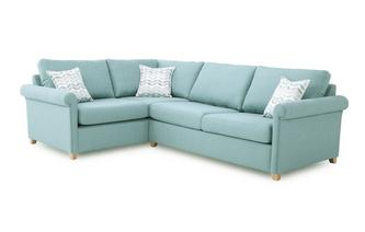 Right Arm Facing Corner Deluxe Sofa Bed Anya
