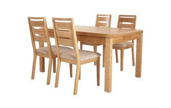 Extending Table & 4 Chairs Archer