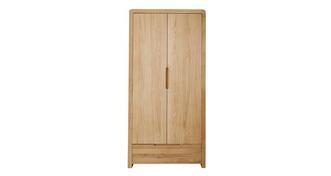 Archer Bedroom 2 Door 1 Drawer Wardrobe