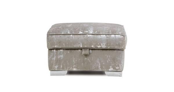 Aria Lavish Storage Footstool