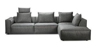 Arjan Linkszijdige 3-delige hoekbank met elektrische recliner
