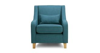 Arlo Accent Chair with Plain Bolster