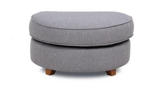 Arran Half Moon Footstool