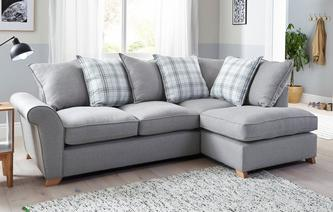 Arran Left Hand Facing Pillow Back Corner Sofa Arran