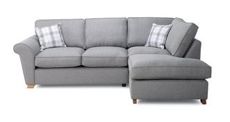 Arran Left Hand Facing Formal Back Corner Sofa Bed