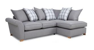 Arran Left Hand Facing Pillow Back Corner Sofa Bed