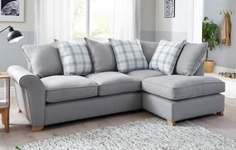Arran Left Hand Facing Pillow Back Corner Deluxe Sofa Bed Arran
