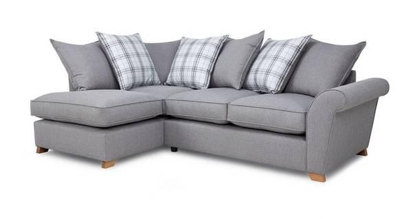 Arran Right Hand Facing Pillow Back Corner Sofa Bed