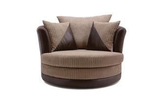 Arthur Large Swivel Chair Samson