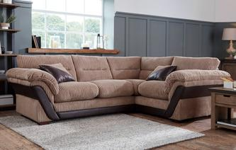 fabric corner sofas in a range of great styles dfs. Black Bedroom Furniture Sets. Home Design Ideas