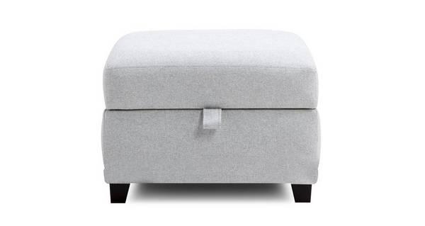 Asha Storage Footstool