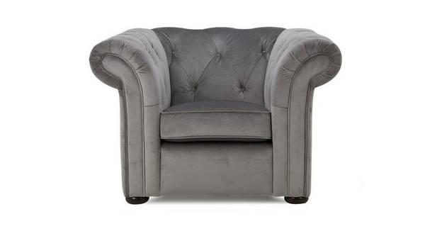 Ashby Velvet Armchair