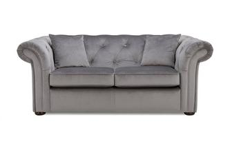 Velvet 2 Seater Sofa Abbey Velvet