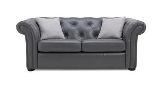 Ashby Leather 2 Seater Sofa Bed