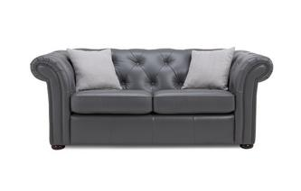 Leather 2 Seater Sofa Bed Brooke