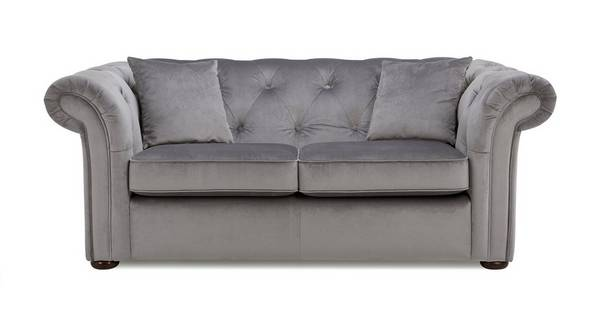 Ashby Velvet 2 Seater Sofa Bed