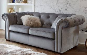 Ashby Velvet 2 Seater Sofa Bed Abbey Velvet