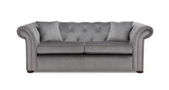 Ashby Velvet 3 Seater Sofa Bed