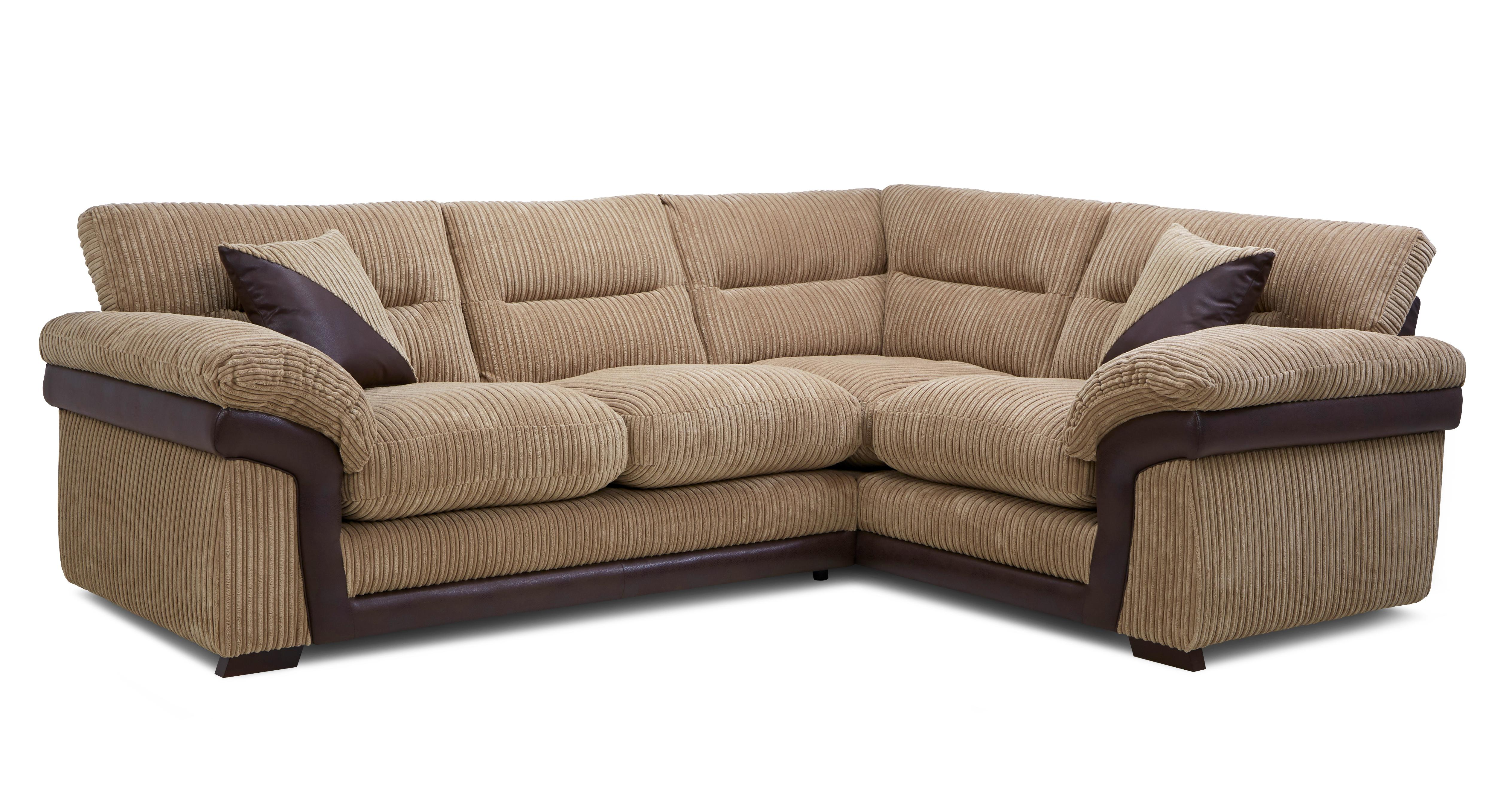 Ashdon Left Hand Facing Arm 2 Piece Corner Sofa Samson Dfs