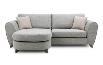Formal Back 4 Seater Lounger Sofa