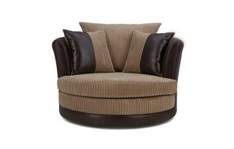 Fabric Chaise Longue Swivel And Snuggle Chairs Ireland