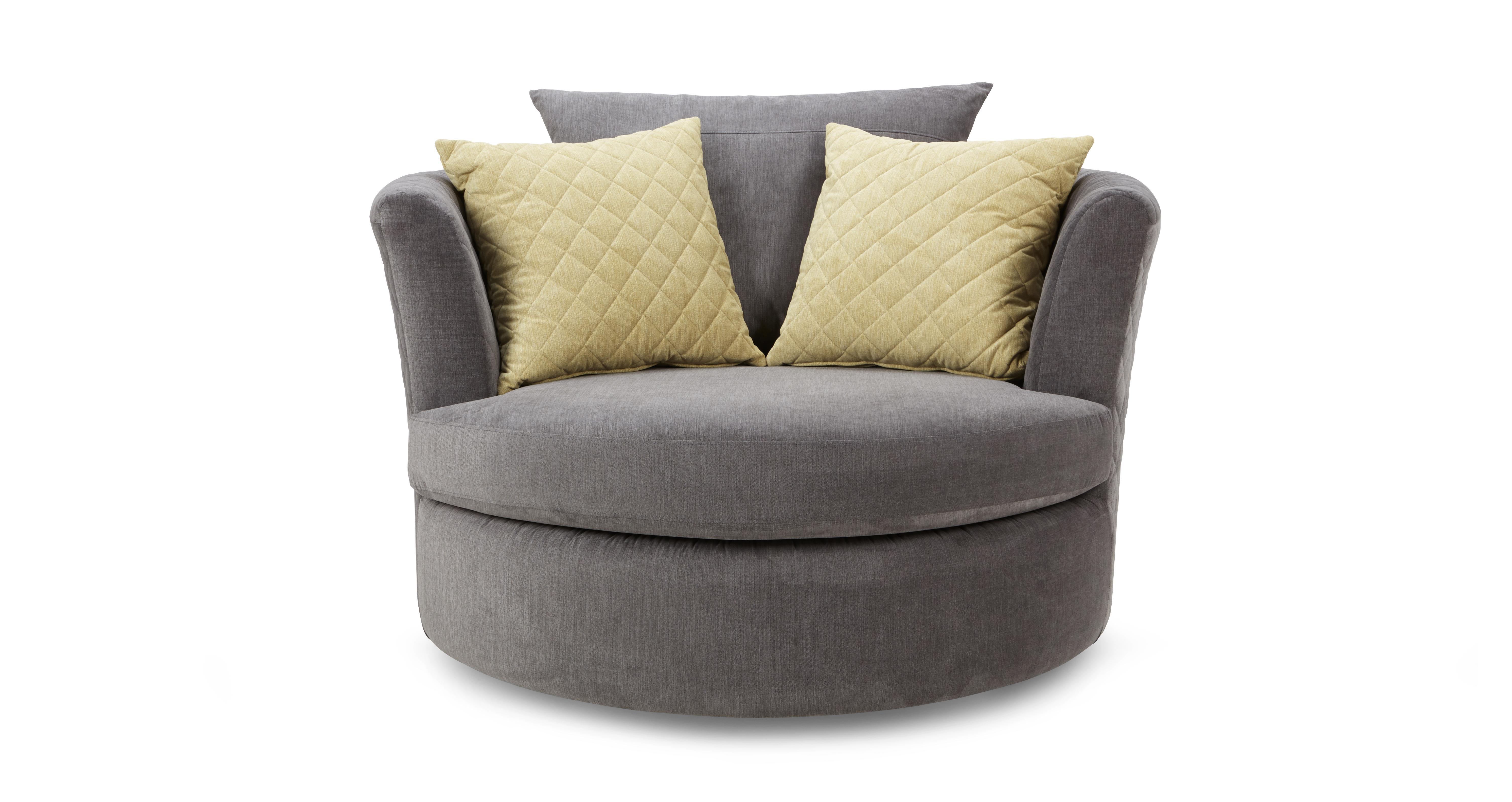 Astaire Swivel Chair Sherbet