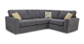 Astaire Left Hand Facing Arm Corner Deluxe Sofa Bed