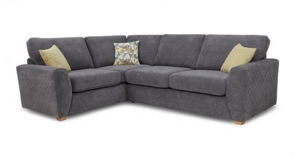 Astaire Right Hand Facing Arm Corner Deluxe Sofa Bed