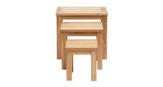 Aston Tafelset met drie tafels