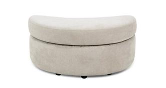 Astoria Half Moon Footstool