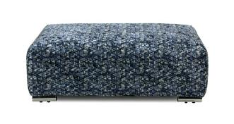 Astoria Pattern Banquette Footstool