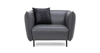Athena Leather Armchair