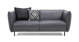 Athena Leather 2 Seater Sofa