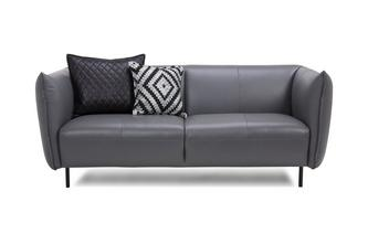 Leather 2 Seater Sofa Brooke