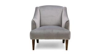 Atlas Velvet Accent Chair