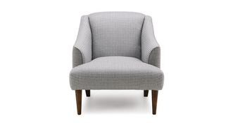 Atlas Houndstooth Accent Chair