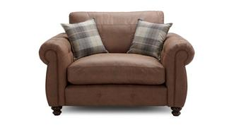 Augustus Formal Back Cuddler Sofa