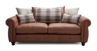 Augustus Pillow Back 3 Seater Sofa