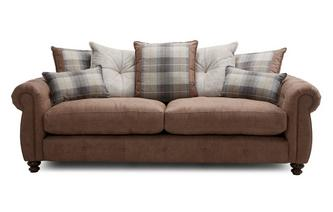 Pillow Back 4 Seater Sofa Augustus