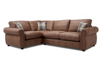Formal Back Right Hand Facing 3 Seater Corner Sofa Bed Augustus