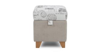 Autograph Storage Dressing Stool