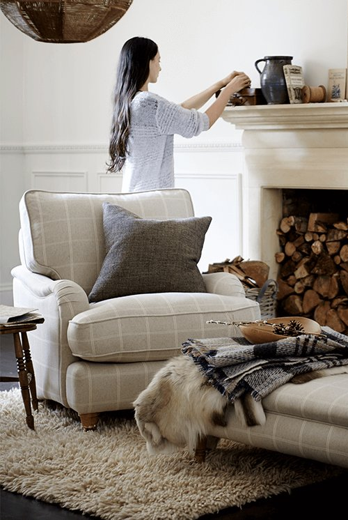Swell Cosy Living Room Ideas For Autumn And Winter Dfs Onthecornerstone Fun Painted Chair Ideas Images Onthecornerstoneorg